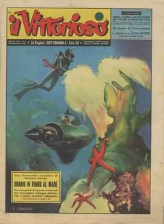 Copertina VITTORIOSO 1955 n.4 - VITTORIOSO 1955              4, A.V.E.