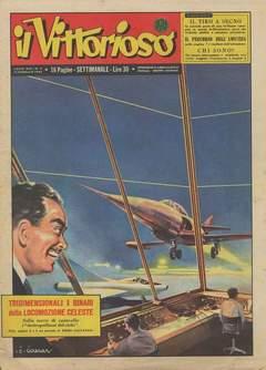 Copertina VITTORIOSO 1955 n.7 - VITTORIOSO 1955              7, A.V.E.