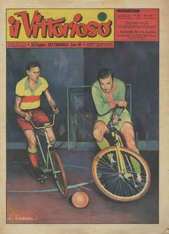 Copertina VITTORIOSO 1955 n.9 - VITTORIOSO 1955              9, A.V.E.