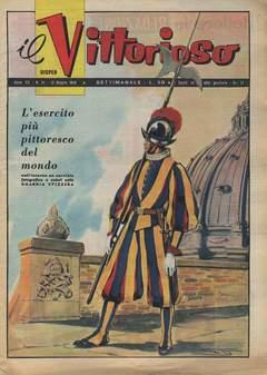 Copertina VITTORIOSO 1956 n.24 - VITTORIOSO 1956             24, A.V.E.