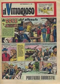 Copertina VITTORIOSO 1957 n.12 - VITTORIOSO 1957             12, A.V.E.