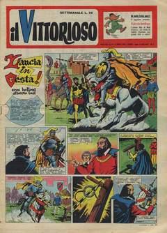Copertina VITTORIOSO 1957 n.14 - VITTORIOSO 1957             14, A.V.E.