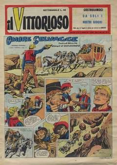 Copertina VITTORIOSO 1957 n.34 - VITTORIOSO 1957             34, A.V.E.