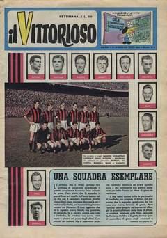 Copertina VITTORIOSO 1959 n.13 - VITTORIOSO 1959             13, A.V.E.