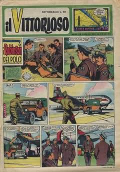 Copertina VITTORIOSO 1959 n.16 - VITTORIOSO 1959             16, A.V.E.
