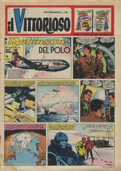 Copertina VITTORIOSO 1959 n.17 - VITTORIOSO 1959             17, A.V.E.