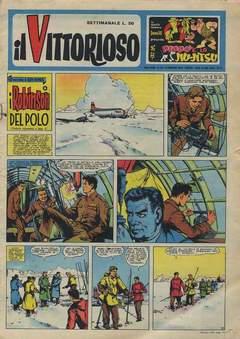 Copertina VITTORIOSO 1959 n.20 - VITTORIOSO 1959             20, A.V.E.