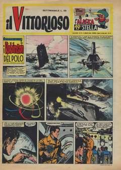 Copertina VITTORIOSO 1959 n.27 - VITTORIOSO 1959             27, A.V.E.