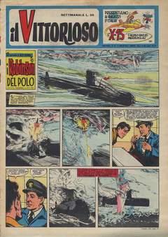 Copertina VITTORIOSO 1959 n.28 - VITTORIOSO 1959             28, A.V.E.