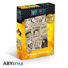 Copertina ABYJDP004 - ONE PIECE PUZZLE W n. - ABYJDP004 - ONE PIECE PUZZLE WANTED, ABYSTYLE