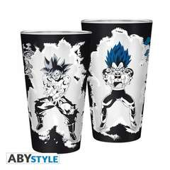 Copertina BICCHIERE ABYSTYLE n.11 - ABYVER144 - BICCHIERE 400ML GOKU & VEGETA, ABYSTYLE