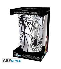 Copertina BICCHIERE ABYSTYLE n.12 - ABYVER146 - BICCHIERE 400ML JACK & SALLY, ABYSTYLE