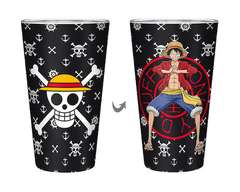 Copertina BICCHIERE ABYSTYLE n.19 - ABYVER167 - ONE PIECE LUFFY BICCHIERE 400ML, ABYSTYLE