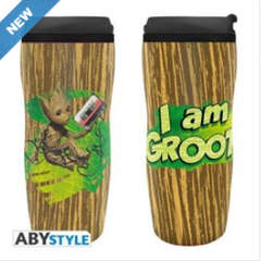 Copertina BICCHIERE ABYSTYLE n.5 - MARVEL - TUMBLER GROOT, ABYSTYLE