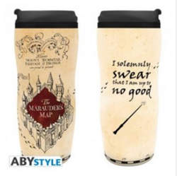 Copertina BICCHIERE ABYSTYLE n.3 - HARRY POTTER - TUMBLER MARAUDER'S MAP, ABYSTYLE