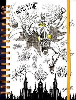 Copertina NOTEBOOK ABYSTYLE n.16 - DC COMICS - NOTEBOOK GRAPHIC BATMAN, ABYSTYLE
