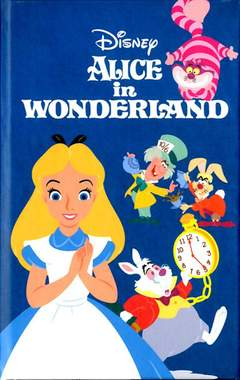 Copertina NOTEBOOK ABYSTYLE n.17 - DISNEY - A6 NOTEBOOK ALICE IN WONDERLAND, ABYSTYLE