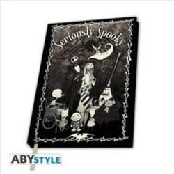 Copertina NOTEBOOK ABYSTYLE n.22 - ABYNOT056 - NIGHTMARE BEFORE CHRISTMAS SERIOUSLY S, ABYSTYLE