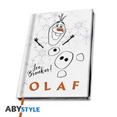 Copertina NOTEBOOK ABYSTYLE n.1 - DISNEY FROZEN 2 - NOTEBOOK AS OLAF, ABYSTYLE