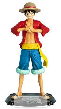 Copertina ONE PIECE LUFFY FIGURE 16,5CM n. - ABYFIG008 - ONE PIECE SUPER FIGURE COLLECTION, ABYSTYLE