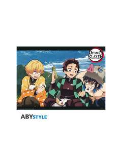 Copertina POSTER ABYSTYLE n.10 - ABYDCO798 - DEMON SLAYER - TRIO - POSTER (52x38), ABYSTYLE