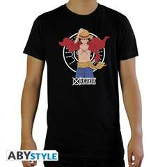 Copertina T-SHIRT n.24 - ABYTEX655S - ONE PIECE LUFFY NEW WORLD S T-S UOMO, ABYSTYLE