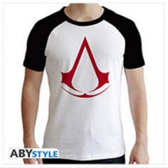 Copertina T-SHIRT n.3 - ASSASSIN'S CREED CREST B&W S, ABYSTYLE