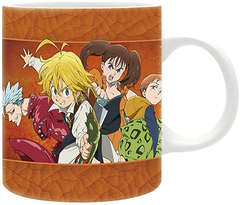 Copertina TAZZE ABYSTYLE n.184 - ABYMUG399 - THE SEVEN DEADLY SINS - TAZZA 320ML, ABYSTYLE