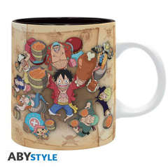 Copertina TAZZE ABYSTYLE n.189 - ABYMUGA012 - ONE PIECE - 1000 LOGS CHEERS - 320ML, ABYSTYLE
