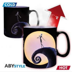 Copertina TAZZE ABYSTYLE n.41 - NIGHTMARE BEFORE CHRISTMAS - HEAT CHANGE 460 JACK, ABYSTYLE