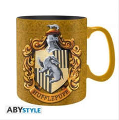 Copertina TAZZE ABYSTYLE n.60 - HARRY POTTER - 460ML - HUFFLEPUFF, ABYSTYLE