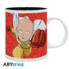 Copertina TAZZE ABYSTYLE n.94 - ONE PUNCH MAN - TAZZA 320ML - SAITAMA & S CLASS HE, ABYSTYLE