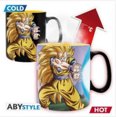 Copertina TAZZE ABYSTYLE n.96 - DRAGON BALL - KAMEHAMEHA - TAZZA HEAT CHANGE 460ML, ABYSTYLE