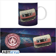 Copertina TAZZE ABYSTYLE n.9 - MARVEL 320 ml - GUARDIANS O.S.T., ABYSTYLE