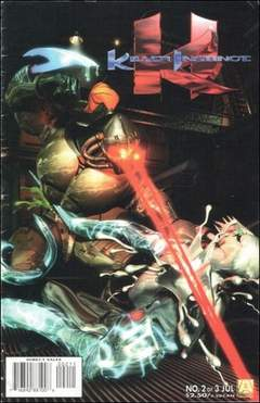Copertina KILLER INSTINCT M3 n.2 - Tiger Bomb, ACCLAIM/VALIANT