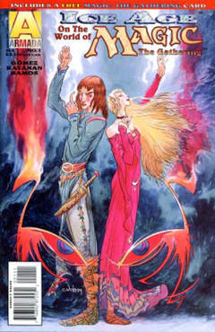 Copertina MAGIC TG ICE AGE M4 n.1 - The Twilight Kingdom, ACCLAIM/VALIANT