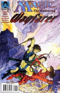 Copertina MAGIC TG WAYFARER M5 n.1 - A Need for Monsters, ACCLAIM/VALIANT