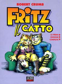 Copertina ACME COMICS n.6 - FRITZ IL GATTO, ACME SRL