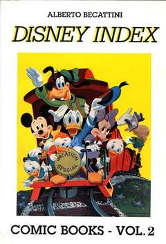 Copertina DISNEY INDEX n.2 - DISNEY INDEX 2, AL FUMETTO CLUB
