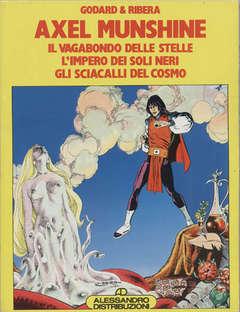 Copertina ALBI DI PILOT RACCOLTA n.4 - AXEL MUNSHINE, ALESSANDRO EDITORE