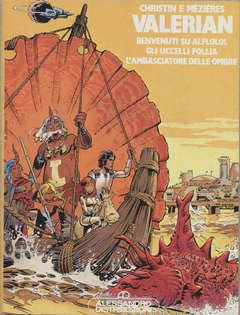 Copertina ALBI DI PILOT RACCOLTA n.1 - VALERIAN, ALESSANDRO EDITORE