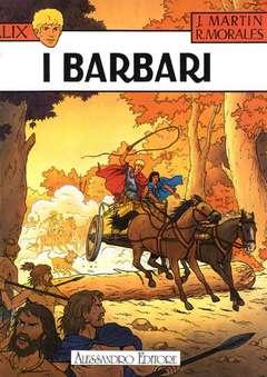 Copertina ALIX n.1 - I BARBARI, ALESSANDRO EDITORE