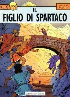 Copertina ALIX n.2 - IL FIGLIO DI SPARTACO, ALESSANDRO EDITORE