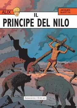 Copertina ALIX n.3 - IL PRINCIPE DEL NILO, ALESSANDRO EDITORE