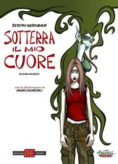 Copertina ARETHEL n.4 - SOTTERRA IL MIO CUORE, ROMANZO, ALESSANDRO EDITORE