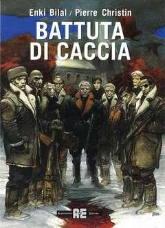 Copertina BILAL n.1 - BATTUTA DI CACCIA, ALESSANDRO EDITORE
