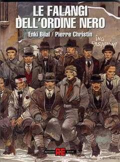 Copertina BILAL n.5 - LE FALANGI DELL'ORDINE NERO, ALESSANDRO EDITORE