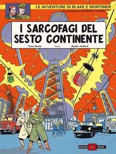 Copertina BLAKE E MORTIMER n.10 - SARCOFAGI 1  MINACCIA UNIVERSALE, ALESSANDRO EDITORE