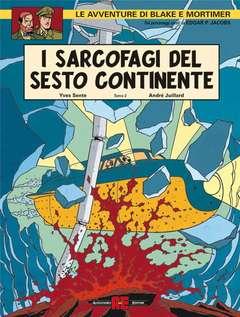 Copertina BLAKE E MORTIMER n.13 - IL DUELLO DEGLI SPIRITI, ALESSANDRO EDITORE