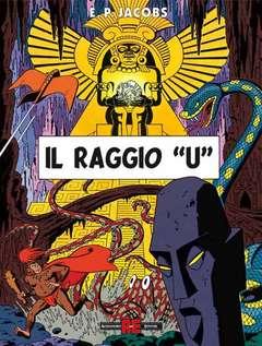 Copertina BLAKE E MORTIMER n.14 - RAGGIO U, ALESSANDRO EDITORE
